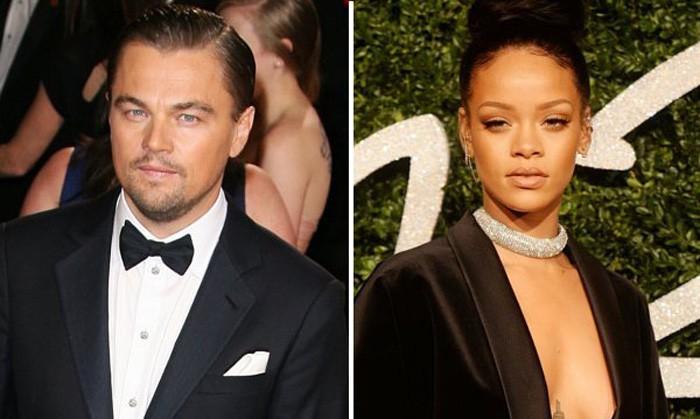 Rihanna desmiente mantener una relación con Leonardo DiCaprio