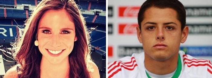 Lucía Villalón es la novia de Chicharito, no de Cristiano Ronaldo