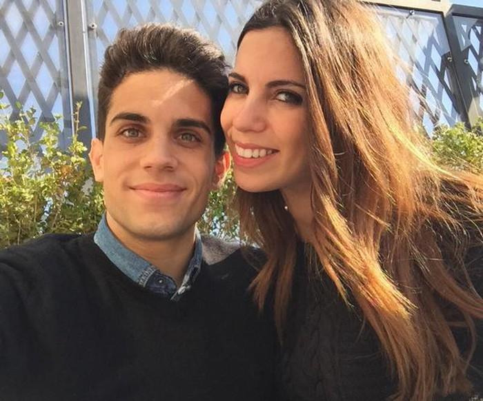 Melissa Jiménez y Marc Bartra van a ser padres