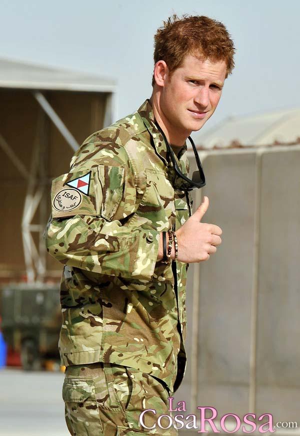 El Príncipe Enrique deja el ejército británico en junio