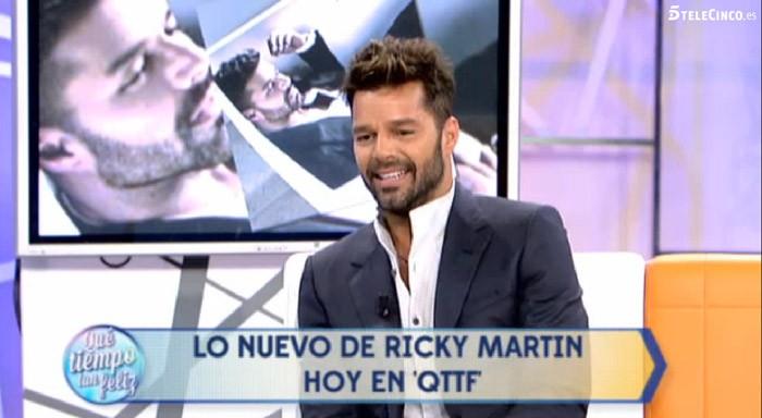 Ricky Martin afirma que no se tiene que esconder para amar