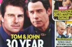 Tom Cruise y John Travolta, 30 años de romance secreto según Star