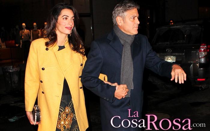 Multa en Italia por molestar a George y Amal Clooney