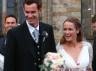 El tenista Andy Murray se casa con Kim Sears en Escocia