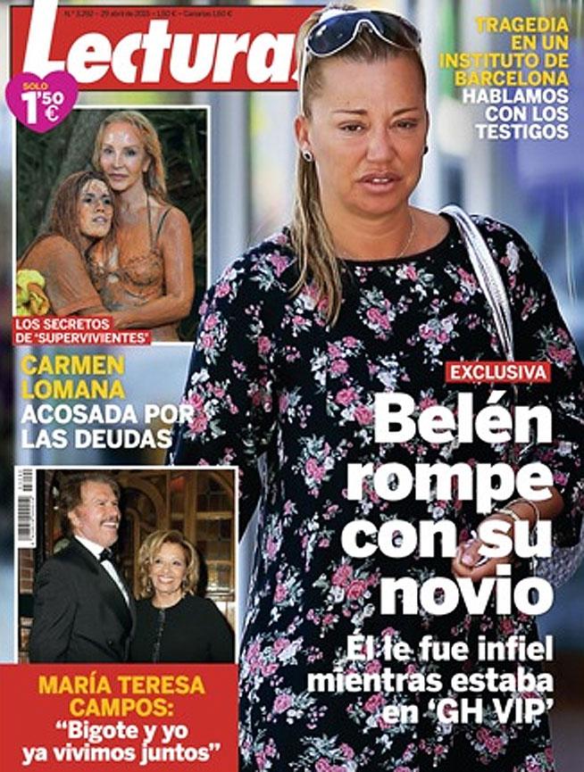 Belén Esteban rompe su relación con Miguel según la revista Lecturas