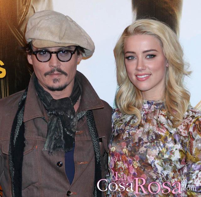 Rumores de crisis en el matrimonio de Johnny Depp y Amber Heard