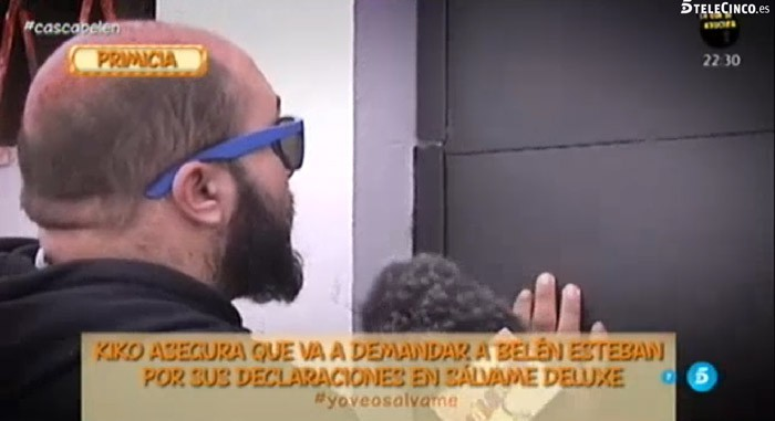Kiko Rivera niega haber insultado a Jorge Javier Vázquez y demandará a Belén Esteban