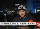 Kiko Rivera regresa de Roma hablando de su boda y su hermana