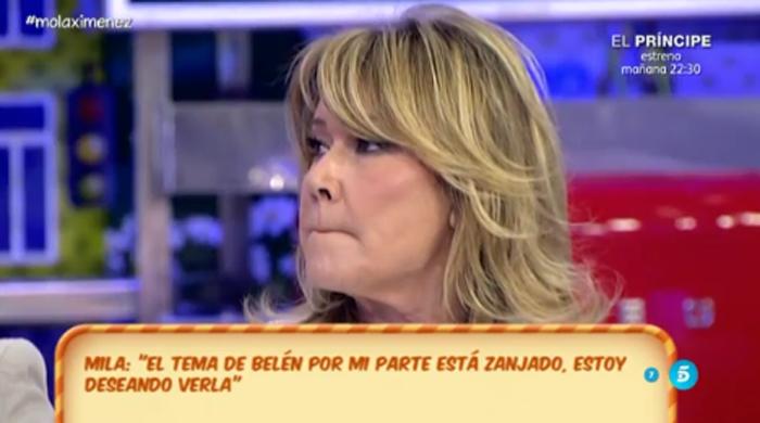Belén Esteban responde a las declaraciones de Mila Ximénez en Sálvame deluxe
