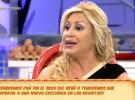 Raquel Mosquera comenta su embarazo en Sálvame