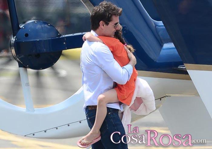 Tom Cruise no ve a Suri desde hace más de un año