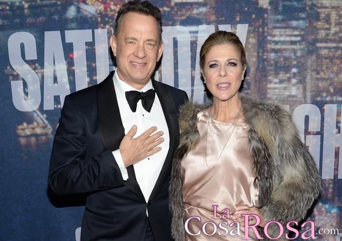 La esposa de Tom Hanks, Rita Wilson, revela que tiene cáncer de mama