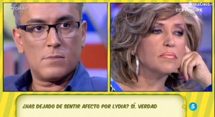 Kiko Hernández no quiere a Lydia Lozano