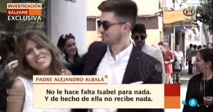 El padre Alejandro Albalá tiene información comprometida de Chabelita