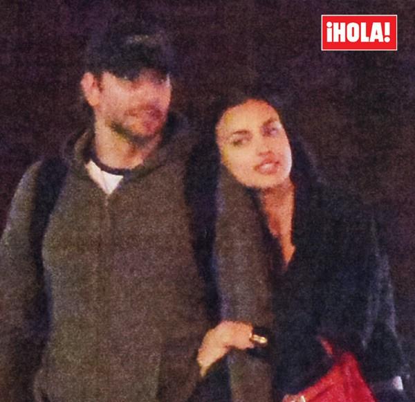 Bradley Cooper e Irina Shayk salen juntos