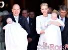 Jacques y Gabriella de Mónaco han sido bautizados