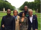 Kim Kardashian celebra el primer aniversario de su boda