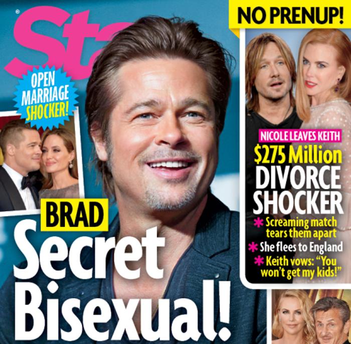 A Brad Pitt también le gustan los hombres
