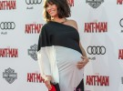 Evangeline Lilly aparece en la premiere de Ant-Man embarazada de siete meses