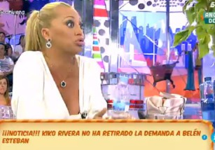 Belén Esteban le responde a Kiko Rivera con