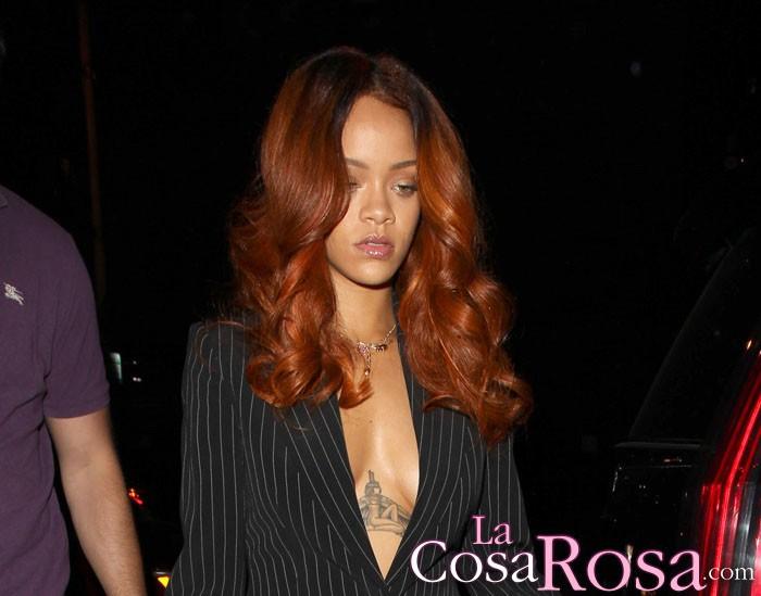 Rihanna y Karim Benzema, de fiesta en el mismo club que Chris Brown