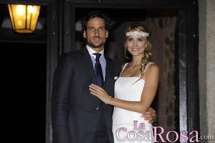 El tenista Feliciano López y la modelo Alba Carrillo se casan en Toledo