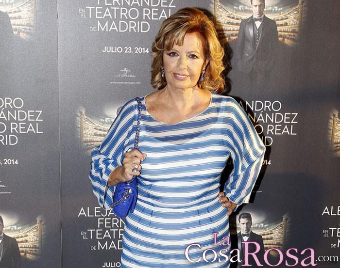 Hacienda reclama 800.000 euros a María Teresa Campos