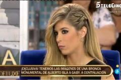 Alberto Isla y su reacción tras la entrevista de su novia en el Deluxe