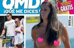 Anabel Pantoja pillada en topless en ¡Qué me dices!