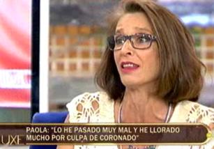 Paola Dominguín tiene claro que José Coronado es mala pareja