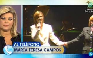 María Teresa Campos habla sobre el fallecimiento de su hermana
