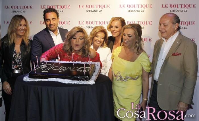Terelu Campos festeja un triste cumpleaños