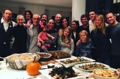 Gwyneth Paltrow y Chris Martin pasan juntos el día de acción de gracias
