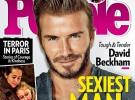 David Beckham, el hombre más sexy del mundo de 2015 para People
