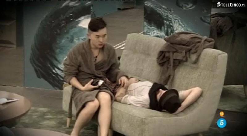 Aritz se siente agobiado por Han en Gran Hermano 16