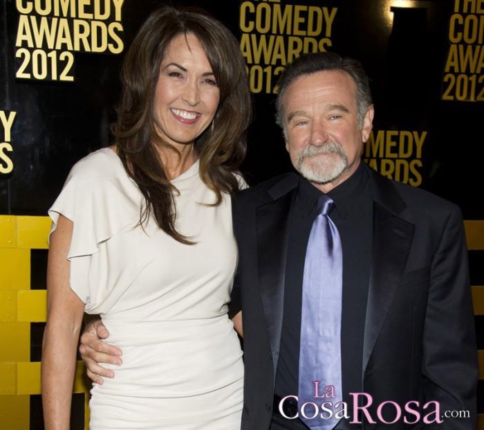 La viuda de Robin Williams asegura que la depresión no fue lo que mató al actor