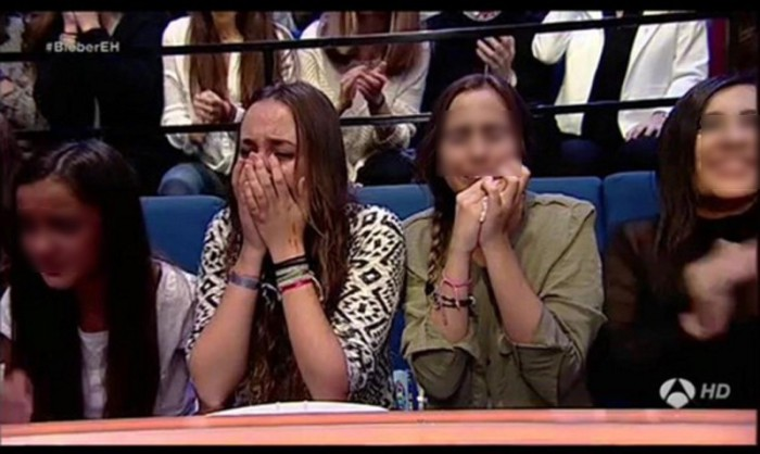 Andreíta se defiende por gastarse 2.000 euros para ver a Justin Bieber