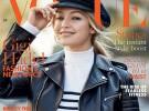 Gigi Hadid habla de su cuerpo, de Cara Delevingne y de Kendall Jenner en Vogue