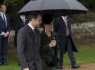 Kate Middleton deslumbra en la misa navideña de la Familia Real británica