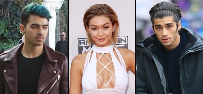 Joe Jonas no se toma bien la relación entre Gigi Hadid y Zayn Malik