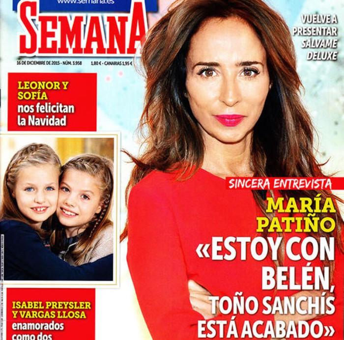 María Patiño comenta en Semana que Toño Sanchís está acabado