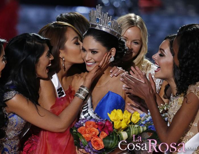 Pia Alonzo, Miss Filipinas, se convierte en Miss Universo 2015 tras un error del presentador