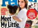Sandra Bullock revela que ha adoptado a una niña