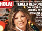 Terelu Campos afronta sus navidades más difíciles en la portada de ¡Hola!