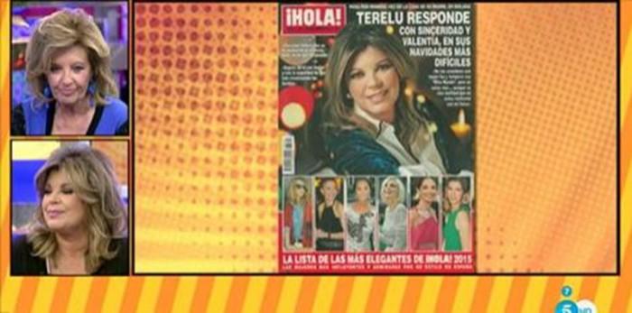 Terelu Campos echa de menos a José Valenciano