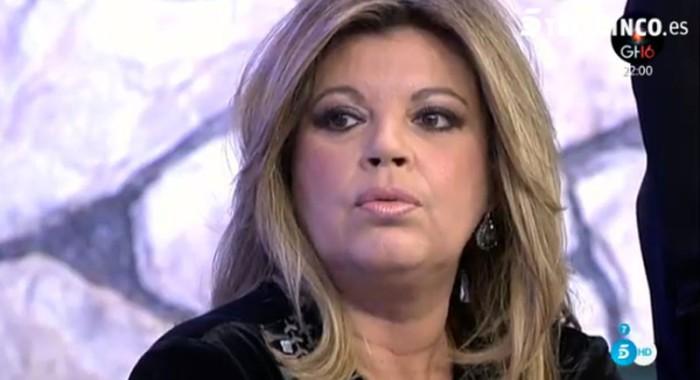 Terelu Campos muy molesta al enterarse de los detalles del ingreso de Toño Sanchís