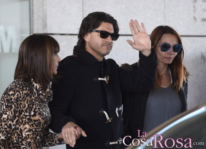Toño Sanchís se recupera y Belén Esteban solo piensa en su mujer y sus hijos