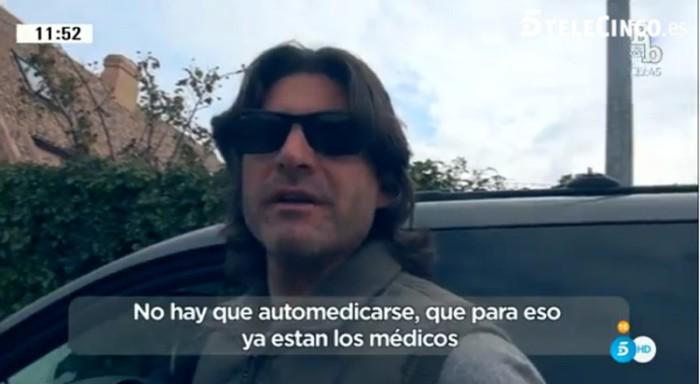 Toño Sanchís comenta que solo quería estar tranquilo tras su intoxicación medicamentosa