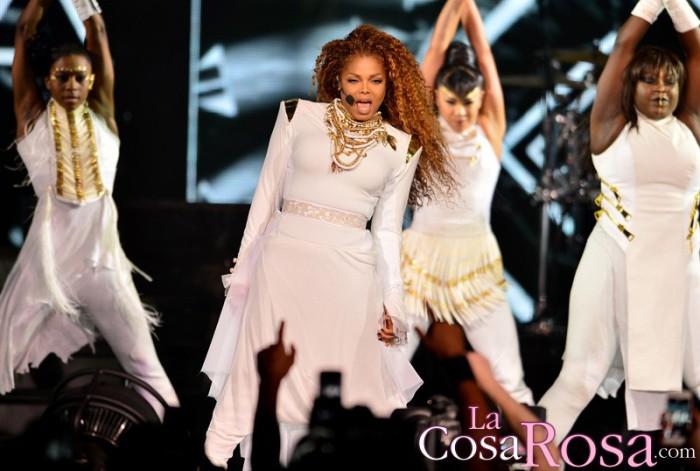 Janet Jackson niega padecer un cáncer de garganta