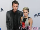 Miley Cyrus y su exprometido Liam Hemsworth, más que cariñosos en Australia